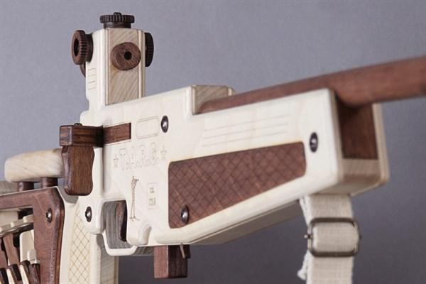 Игрушка TARG модель для сборки BIATHLON - фото 10140