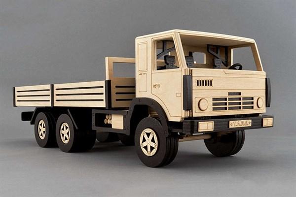 Игрушка TARG Модель для сборки Бортовой грузовик - фото 10249