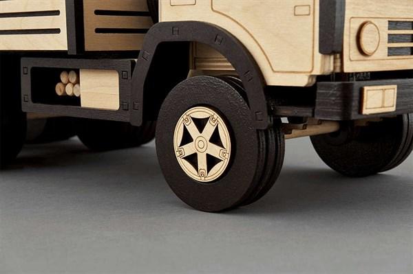 Игрушка TARG Модель для сборки Бортовой грузовик - фото 10250
