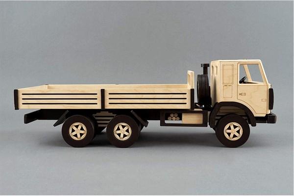 Игрушка TARG Модель для сборки Бортовой грузовик - фото 10252