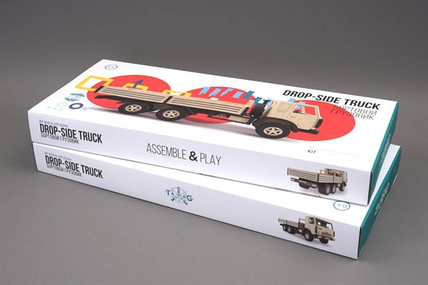 Игрушка TARG Модель для сборки Бортовой грузовик - фото 10254