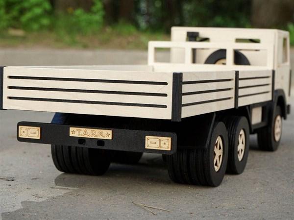 Игрушка TARG Модель для сборки Бортовой грузовик - фото 10256