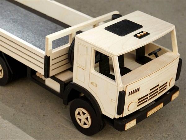 Игрушка TARG Модель для сборки Бортовой грузовик - фото 10257