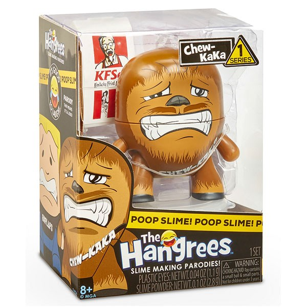 Игрушка The Hangrees Chew-KaKa - фото 10275