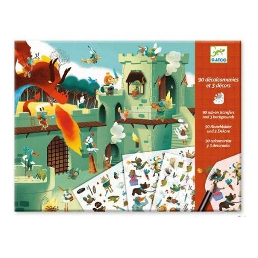 DJECO Набор для творчества Средневековые сказки - фото 10327