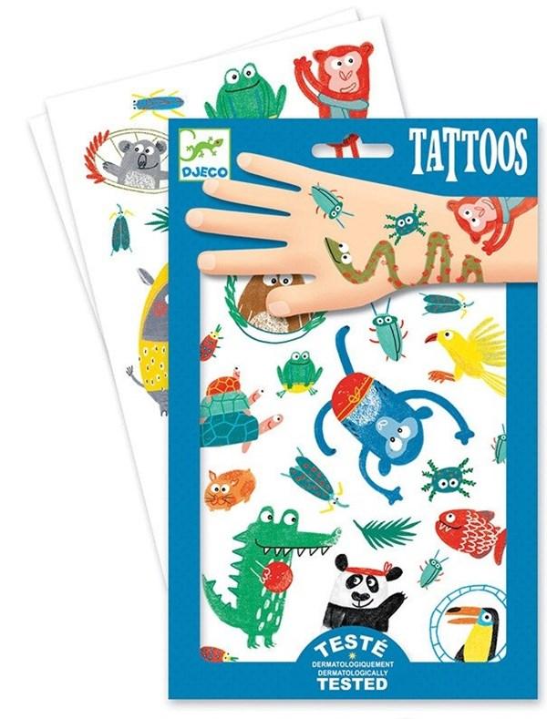 DJECO Татуировки Животные - фото 10328