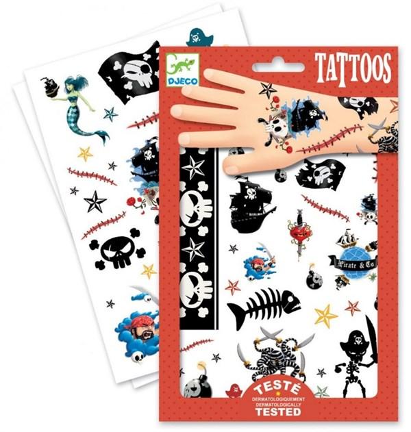 DJECO Татуировки Пираты - фото 10331