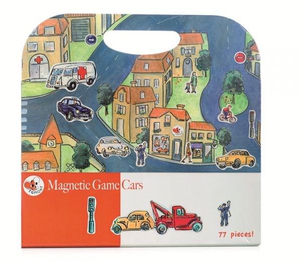 EGMONT Магнитная игра «Машинки» - фото 10334