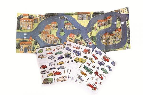 EGMONT Магнитная игра «Машинки» - фото 10335