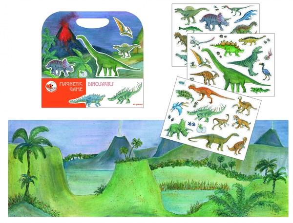 """EGMONT Магнитная игра """"Динозавры"""" - фото 10337"""
