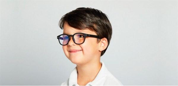 IZIPIZI KIDS Очки #C Для экрана детские JUNIOR Черные/ Black - фото 10340