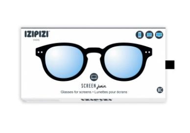 IZIPIZI KIDS Очки #C Для экрана детские JUNIOR Черные/ Black - фото 10343