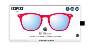 IZIPIZI KIDS Очки #E Для экрана детские JUNIOR  Красные/ Red - фото 10353