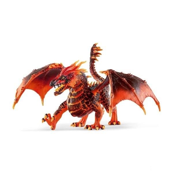 SCHLEICH Дракон Лава - фото 10385