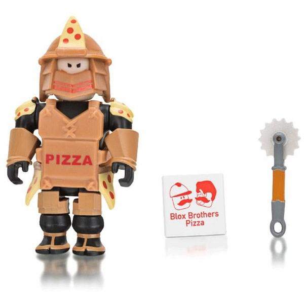 Игрушка Roblox - фигурка героя Loyal Pizza Warrior (Core) с аксессуарами - фото 10389