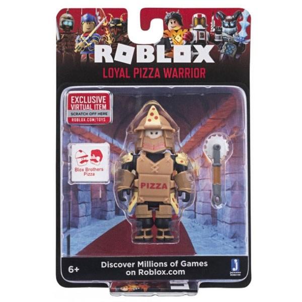 Игрушка Roblox - фигурка героя Loyal Pizza Warrior (Core) с аксессуарами - фото 10390