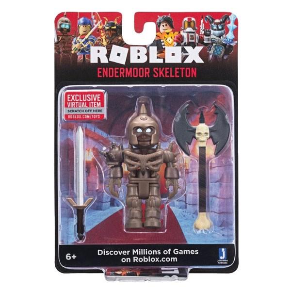 Игрушка Roblox - фигурка героя Endermoor Skeleton (Core) с аксессуарами - фото 10392