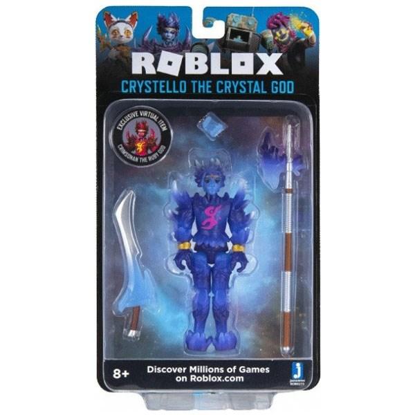 Игрушка Roblox - фигурка героя Crystello the Crystal God (Imagination) с аксессуарами - фото 10393