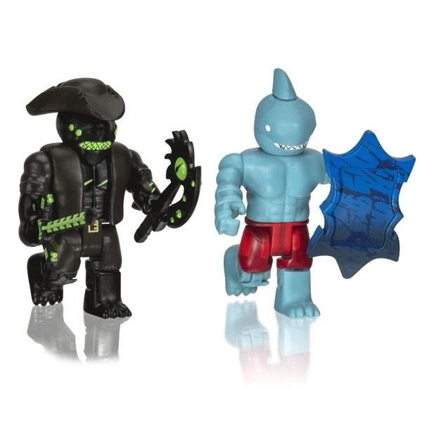 Игрушка Roblox - фигурки героев A Pirate's Tale: Shark People 2 шт с аксессуарами - фото 10400