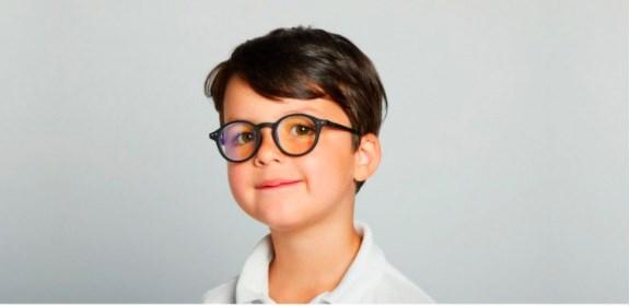 IZIPIZI KIDS Очки #D Для экрана детские JUNIOR Черные/ Black - фото 10403