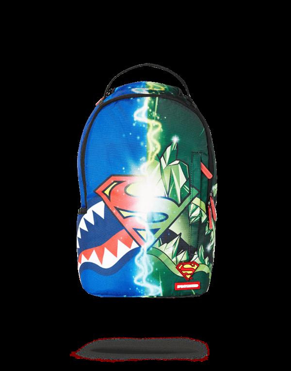 Sprayground Рюкзак LIL MINI SUPERMAN KRYPTONITE BACKPACK - фото 10836