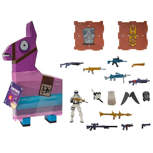 Игрушка Fortnite - Лама-пиньята с аксессуарами (Overtaker) - фото 10958