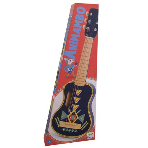 DJECO Гитара 6 струн - фото 11013