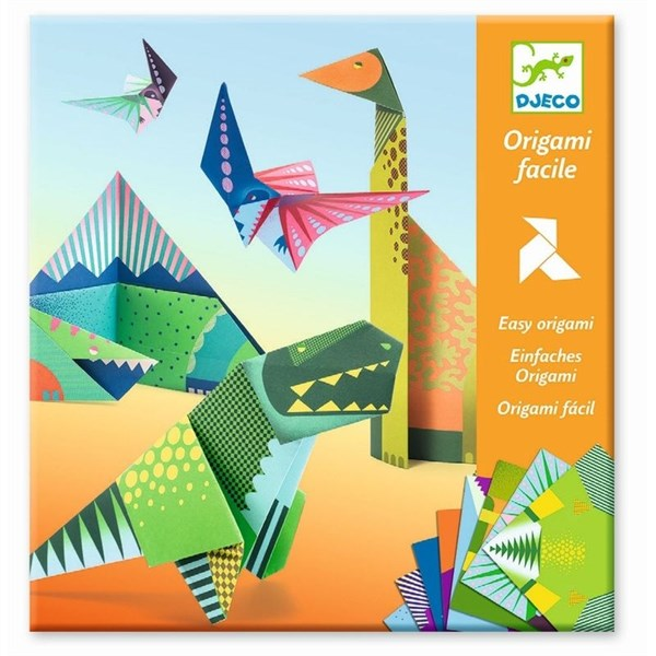 DJECO Оригами Динозавры - фото 11016