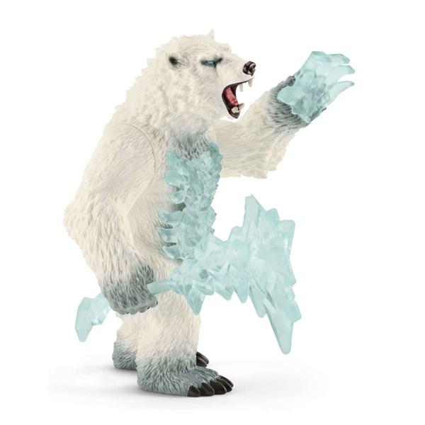 SCHLEICH Снежный медведь с оружием - фото 11021