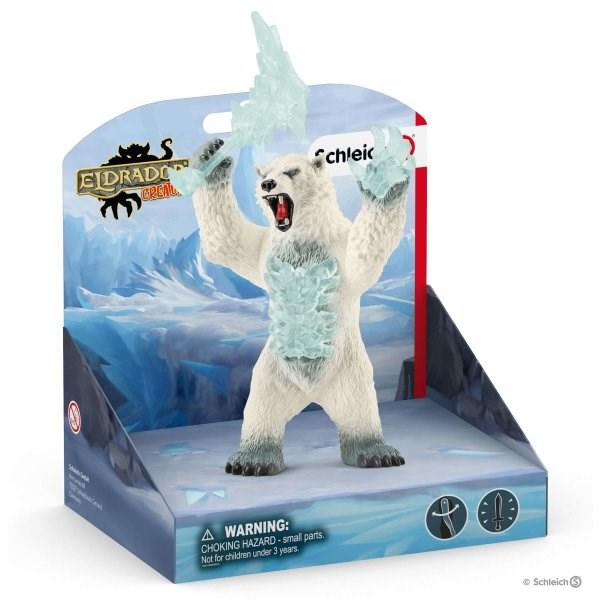 SCHLEICH Снежный медведь с оружием - фото 11023