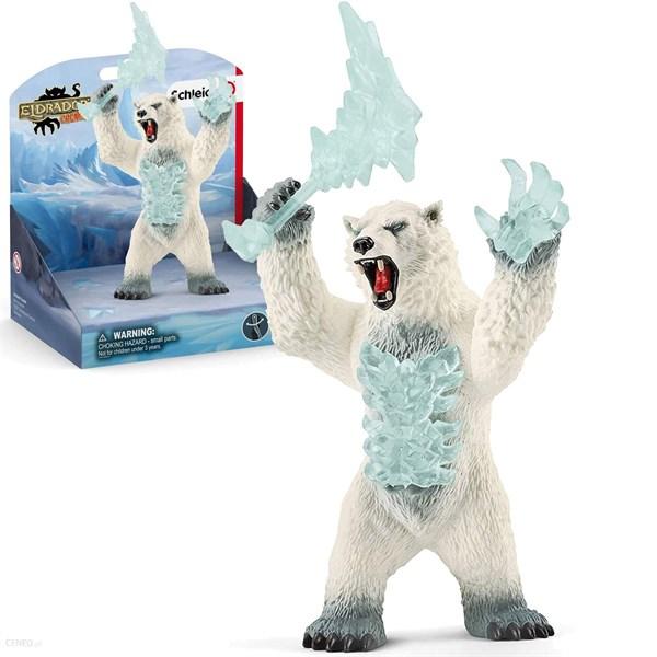 SCHLEICH Снежный медведь с оружием - фото 11024
