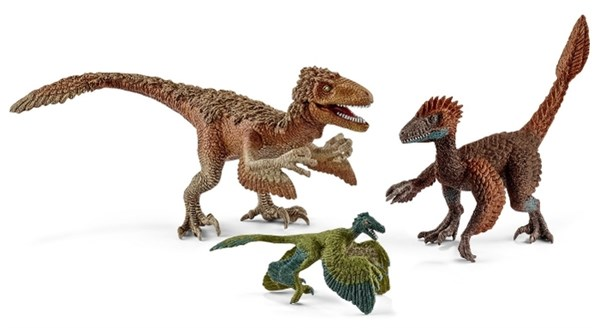SCHLEICH Пернатые хищники-динозавры - фото 11025