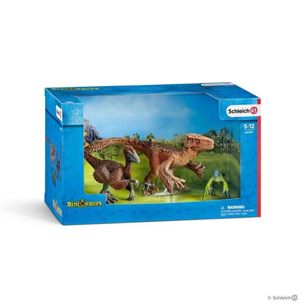 SCHLEICH Пернатые хищники-динозавры - фото 11027