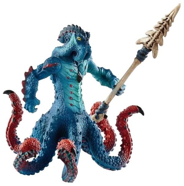 SCHLEICH Морское чудовище с оружием - фото 11046