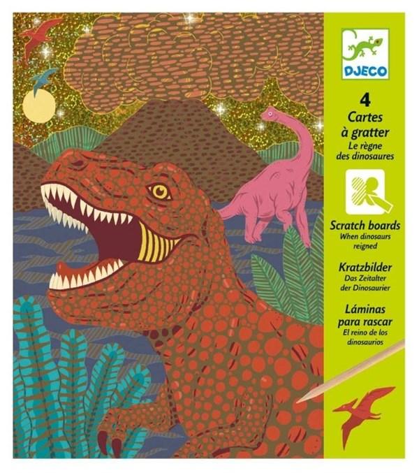 DJECO Набор для творчества Динозавр - фото 11055