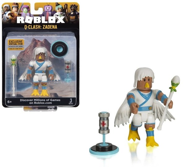Игрушка Roblox - фигурка героя Q-Clash: Zadena (Core) с аксессуарами - фото 11060