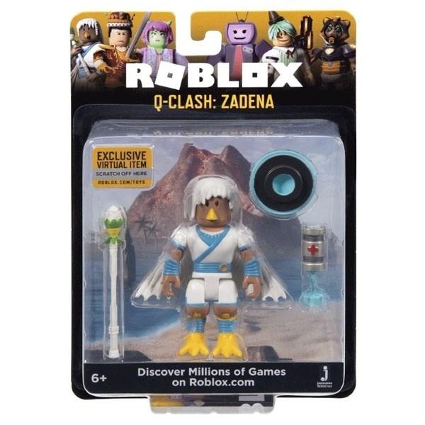 Игрушка Roblox - фигурка героя Q-Clash: Zadena (Core) с аксессуарами - фото 11061