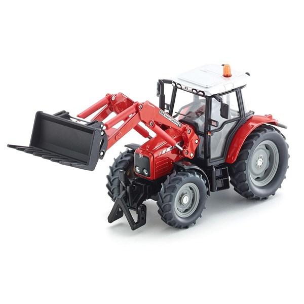 SIKU Трактор Massey Ferguson с вилочным погрузчиком (1:32) - фото 11096