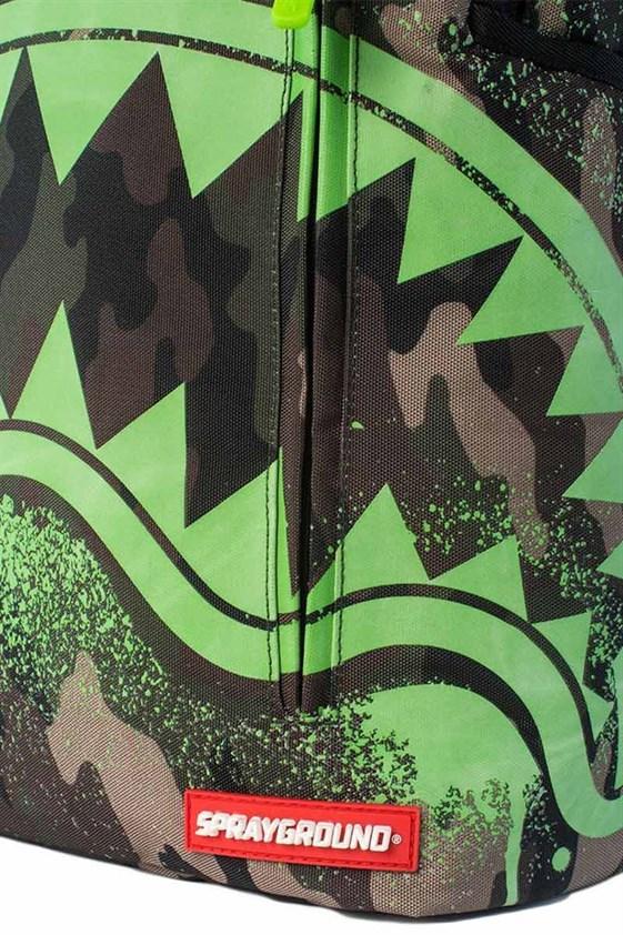 Sprayground Рюкзак GLOW IN THE CAMO SHARK - фото 11102
