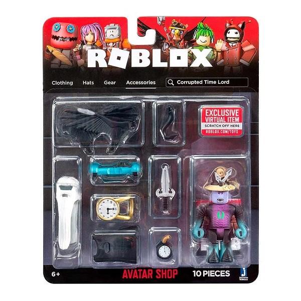 Игрушка Roblox - фигурка героя Corrupted Time Lord (Avatar Shop) с аксессуарами - фото 11211