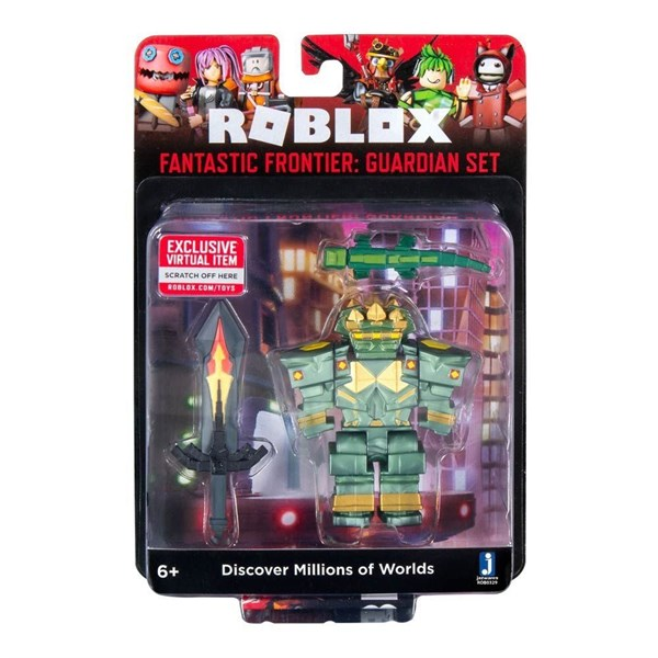 Игрушка Roblox - фигурка героя Fantastic Frontier: Guardian Set (Core) с аксессуарами - фото 11225