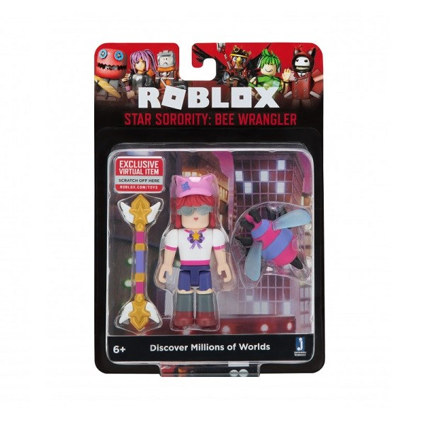 Игрушка Roblox - фигурка героя Star Sorority: Bee Wrangler (Core) с аксессуарами - фото 11226