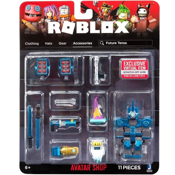 Игрушка Roblox - фигурка героя Future Tense (Avatar Shop) с аксессуарами - фото 11229