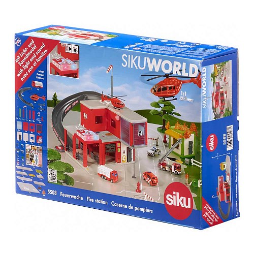 SIKU SW Пожарная станция - фото 11241