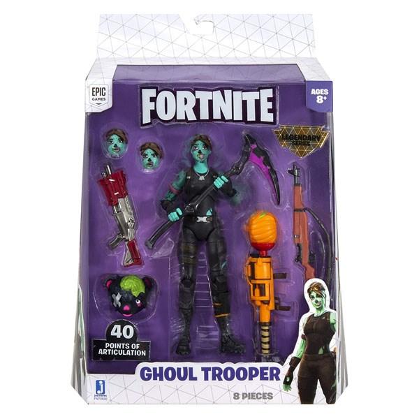 Игрушка Fortnite - фигурка героя Ghoul Trooper с аксессуарами (LS) - фото 11764