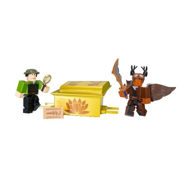 Игрушка Roblox - фигурки героев Escape Room: The Pharoah's Tomb 2 шт с аксессуарами - фото 11799