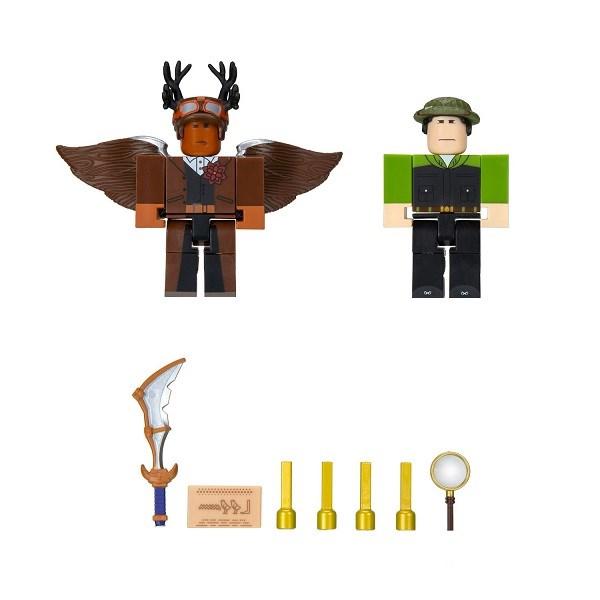 Игрушка Roblox - фигурки героев Escape Room: The Pharoah's Tomb 2 шт с аксессуарами - фото 11802