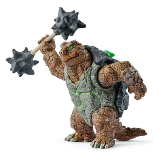 SCHLEICH Черепаха в доспехах и с оружием - фото 11837