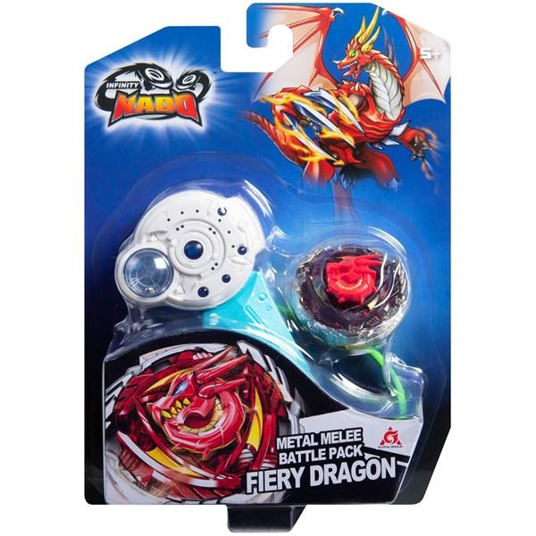 Инфинити Надо. Волчок Классик, Fiery Dragon. TM Infinity Nado - фото 11838