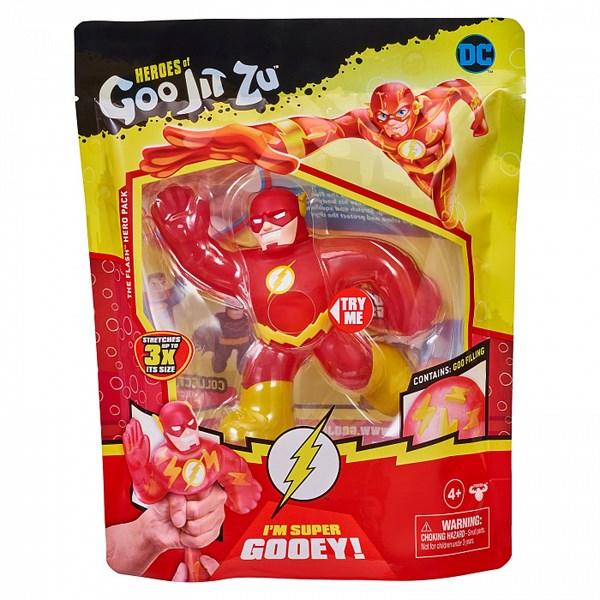 Гуджитсу Игрушка тянущаяся фигурка Флэш DC ТМ GooJitZu - фото 11905